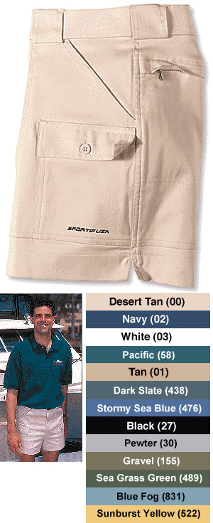 Men's 7 Pocket Sportif Shorts