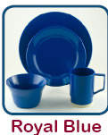 Click Here to Order Royal Blue Dishes