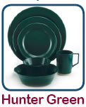Click Here to Order Hunter Green Dishes