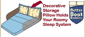 Click Here to Order Decorative Pillow Storage Solution