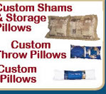 Click Here to Order Custom Shams and Matching Pillows