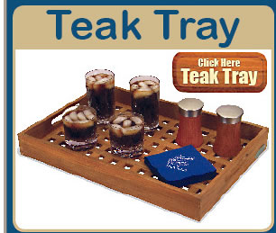Click Here to Order Teak Tray