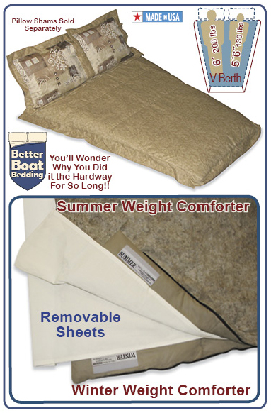 V-Berth Size Decorator Sleep System